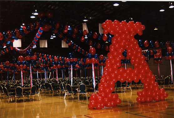 Homecoming at Beardown gym
